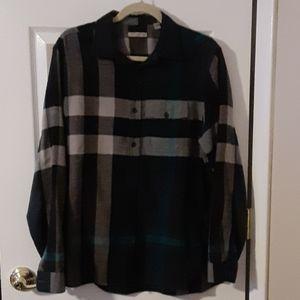 Burberry Brit Large Long Sleeve Shirt